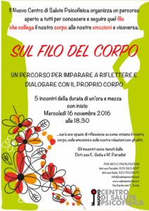 SUL FILO DEL CORPO_locandina